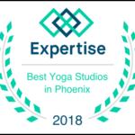 Best Yoga Studios in Phoenix Award - 2018